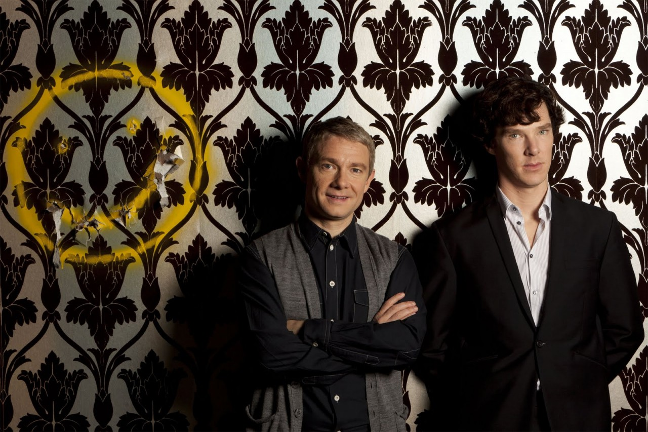 sherlock 221b smiley wallpaper image